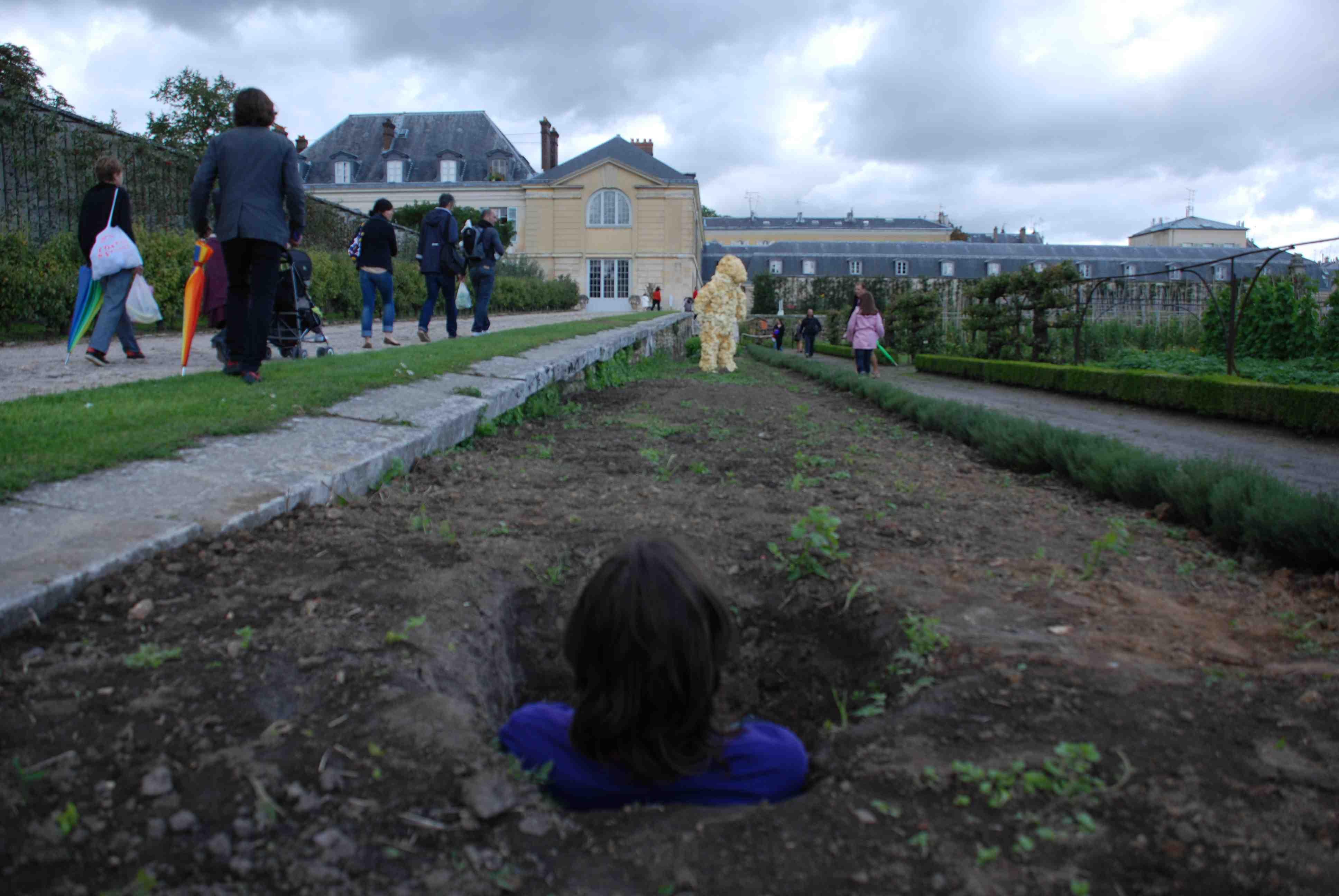 Didier Courbot - Aux jardiniers (l'ensevelissement) © Catherine Alves